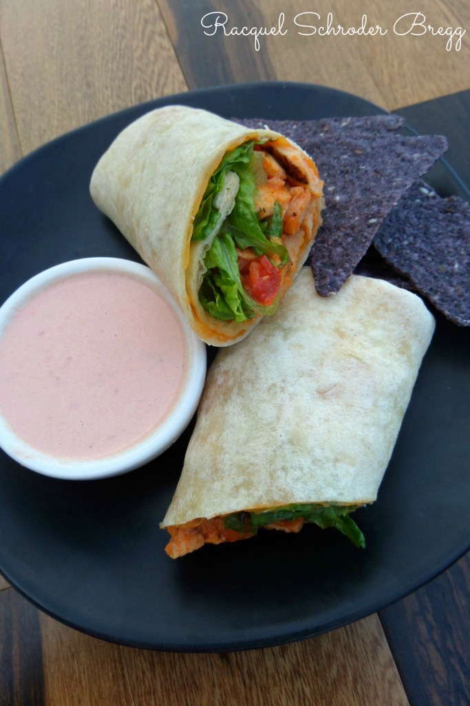Healthy Mexican Chicken Wrap